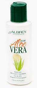 Aloe Vera, 4 fl oz / 118 ml  (Aubrey Organics)