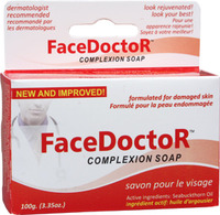 Face Doctor Complexion Soap, 3.35 oz / 100g