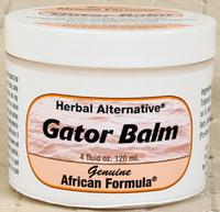 Gator Balm,  4 oz / 120 ml (African Formula)
