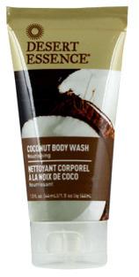 Coconut Body Wash - Travel Size, 1.5 fl oz/44ml (Desert Essence)