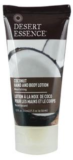 Coconut Hand and Body Lotion - Travel Size, 1.5 fl oz /44ml (Desert Essence)