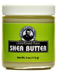 Shea Butter - Unrefined, Raw, 4 oz/ 113g (Uncle Harry's)