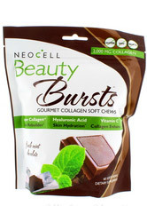 Beauty Bursts Collagen Soft Chews - Chocolate Mint, 60 chews (Neocell)