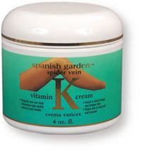 Vitamin K Cream, 4 oz  (Spanish Garden)