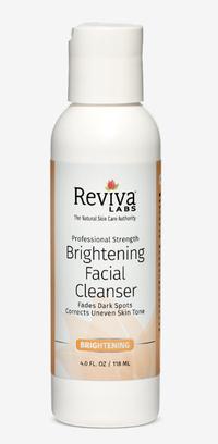 Brightening Facial Cleanser, 4 fl oz / 118ml (Reviva Labs)