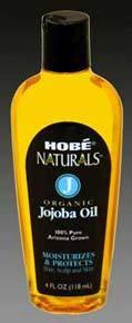 Jojoba Oil - Organic, 4 fl oz (Hobe Labs)
