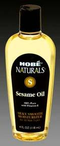 Sesame Oil, 4 fl oz (Hobe Labs)
