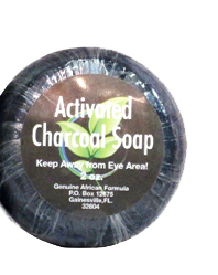 Activated Charcoal Soap, 2 oz bar (African Formula)