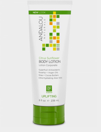 Citrus Sunflower Body Lotion (formerly Citrus Verbena), 8 fl oz /236ml (Andalou Naturals)