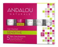 Sensitive Skin Care Gift Set, 5 products (Andalou Naturals)