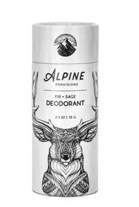 Fir + Sage Deodorant, 2.4 oz (Alpine Provisions)