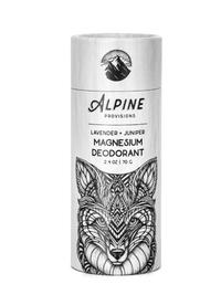 Lavender + Juniper Magnesium Deodorant, 2.4 oz (Alpine Provisions)