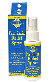 Psoriasis Relief Spray, 2 fl oz / 60 ml (All Terrain Co.)