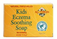 Kids Eczema Soothing Soap, 4 oz / 112 g (All Terrain Co.)