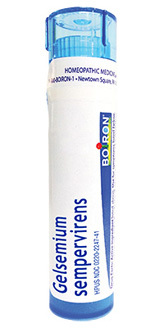 Gelsemium Sempervirens 30C, approx. 80 pellets (Boiron)