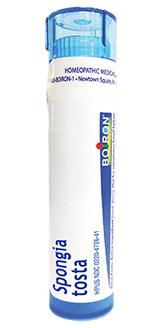 Spongia Tosta 30C, approx. 80 pellets (Boiron)