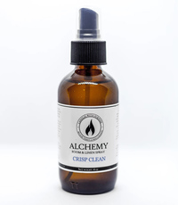 Alchemy Room & Linen Spray - Crisp Clean, 4 oz (Candles With Purpose)