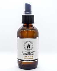 Alchemy Room & Linen Spray - Citrus Odor Neutralizer, 4 oz (Candles With Purpose)