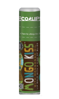 Mongo Kiss Lip Balm - Peppermint, 0.25 oz (Eco Lips)