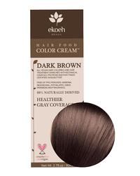 Dark Brown Hair Color Cream, 2.7 fl oz (Ekoeh)