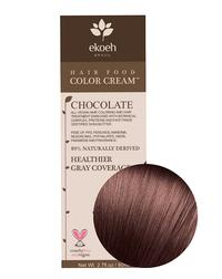 Chocolate Hair Color Cream, 2.7 fl oz (Ekoeh)