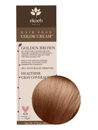 Golden Brown Hair Color Cream, 2.7 fl oz (Ekoeh)