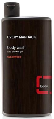 Body Wash - Cedarwood, 16.9 fl oz (Every Man Jack)