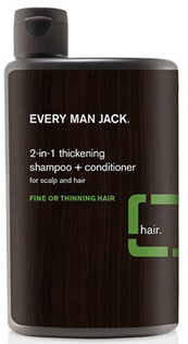 2 in 1 Thickening Shampoo & Conditioner, 13.5 oz (Every Man Jack)