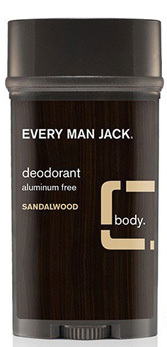 Men's Deodorant - Sandalwood, 3 oz (Every Man Jack)
