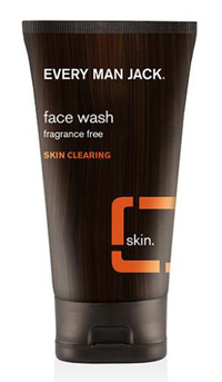 Face Wash - Fragrance Free, 5 fl oz (Every Man Jack)
