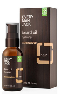 Beard Oil - Sandalwood, 1 fl oz (Every Man Jack)