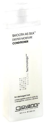 Smooth As Silk Deeper Moisture Conditioner, 8.5 fl oz (Giovanni)