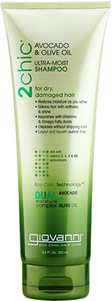 2Chic Avocado & Olive Oil Ultra Moist Shampoo, 3.5 fl oz (Giovanni)