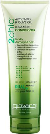 2Chic Avocado & Olive Oil Ultra-Moist Conditioner, 8.5 fl oz (Giovanni)