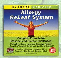 Allergy Releaf® System,  30 softgels & 30 tablets (Herbs Etc.)