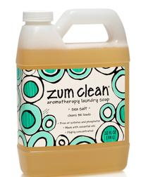 Zum Clean Laundry Soap - Sea Salt, 32 fl oz (Indigo Wild)