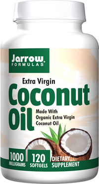 Coconut Oil - 1,000 mg 120 softgels (Jarrow)