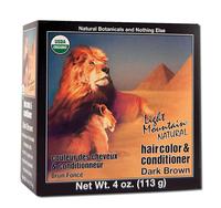 Natural Hair Color & Conditioner - Dark Brown, 4 oz (Light Mountain)