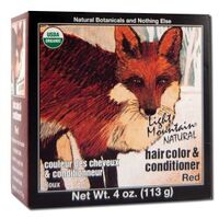 Natural Hair Color & Conditioner - Red, 4 oz (Light Mountain)