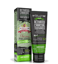 Activated Charcoal Toothpaste - Wintergreen, 4 oz (My Magic Mud)