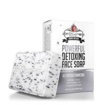 Activated Charcoal Detoxing Face Soap, 3.75 oz (My Magic Mud)