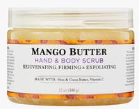 Mango Butter Hand & Body Scrub, 12 oz (Nubian Heritage)