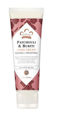 Patchouli & Buriti Hand Cream, 4 fl oz / 118ml (Nubian Heritage)