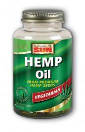 Hemp Oil, 60 soft gels (Health From The Sun)