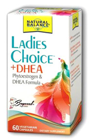 Ladies Choice Plus DHEA, 60 vegetarian capsules (Natural Balance)