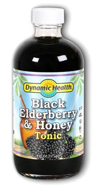 Black Elderberry & Honey Tonic, 8 fl oz (Dynamic Health)