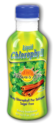 Liquid Chlorophyll - Cinnamon Mint 16 fl oz (Nature's Life)