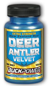 Deer Antler Velvet - 550 mg, 30 capsules (Natural Sport)