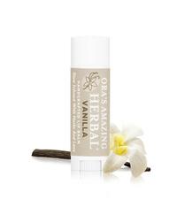 Herbal Infused Lip Balm, Vanilla .15oz (Ora's Amazing Herbal)