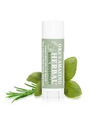 Herbal Infused Lip Balm, Basil-Rosemary .15oz (Ora's Amazing Herbal)